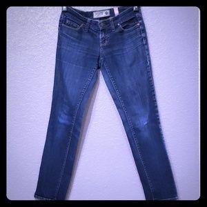 Victoria secret PINK stretch blue jeans size 2